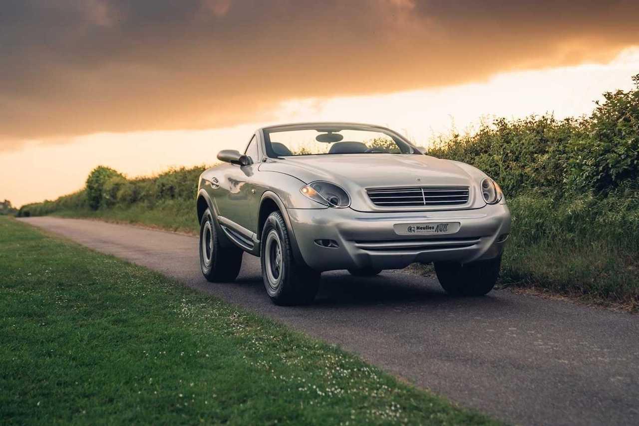 A vendre : Heuliez Intruder, un Mercedes Classe G croisé avec un SLK