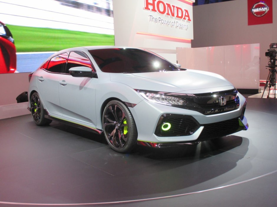 la nouvelle honda civic s 39 annonce avec le concept civic hatchback photo 17 l 39 argus. Black Bedroom Furniture Sets. Home Design Ideas