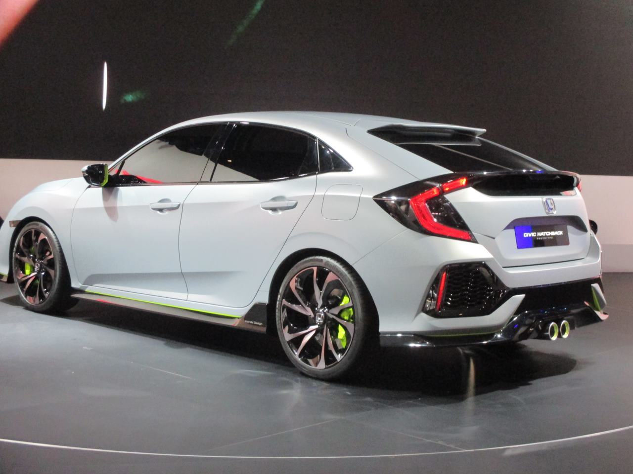 la nouvelle honda civic s 39 annonce avec le concept civic hatchback photo 19 l 39 argus