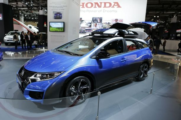 honda civic tourer active life concept l 39 ami des cyclistes l 39 argus. Black Bedroom Furniture Sets. Home Design Ideas