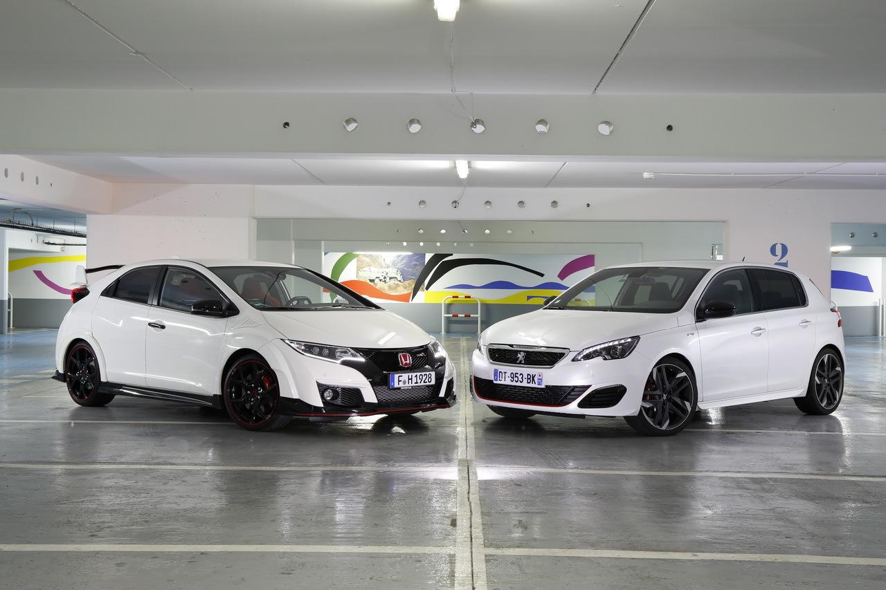Mustang Vs Camaro >> Essai comparatif : Honda Civic Type R vs Peugeot 308 GTi, le match ! - Photo #1 - L'argus
