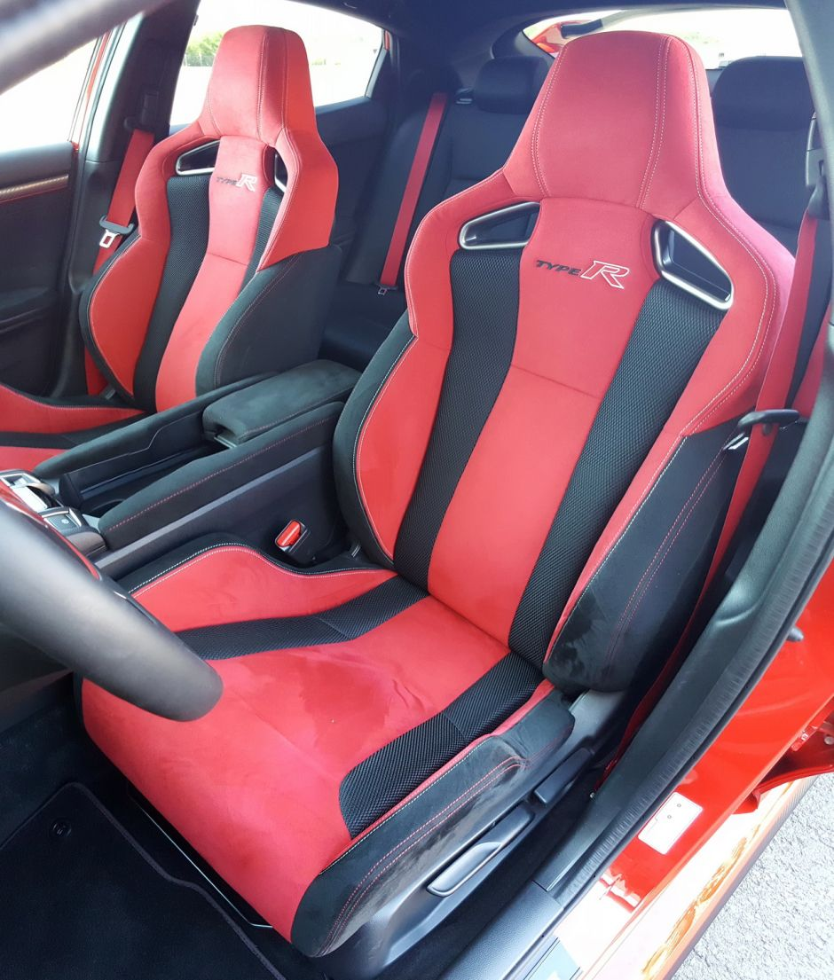 essai honda civic type r 2018 le test au n rburgring et sur autobahn photo 13 l 39 argus. Black Bedroom Furniture Sets. Home Design Ideas