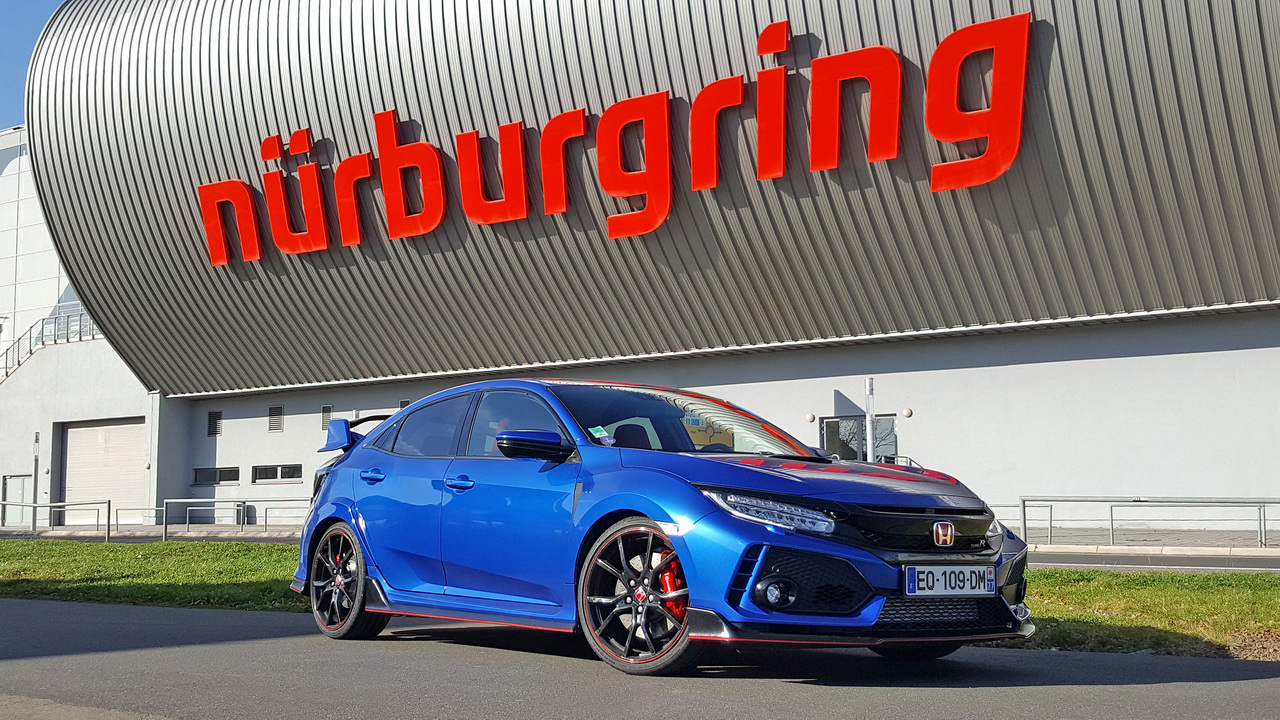 essai honda civic type r 2018 le test au n rburgring et sur autobahn photo 19 l 39 argus. Black Bedroom Furniture Sets. Home Design Ideas