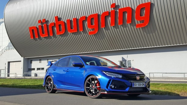 essai honda civic type r 2018 le test au n rburgring et sur autobahn l 39 argus. Black Bedroom Furniture Sets. Home Design Ideas