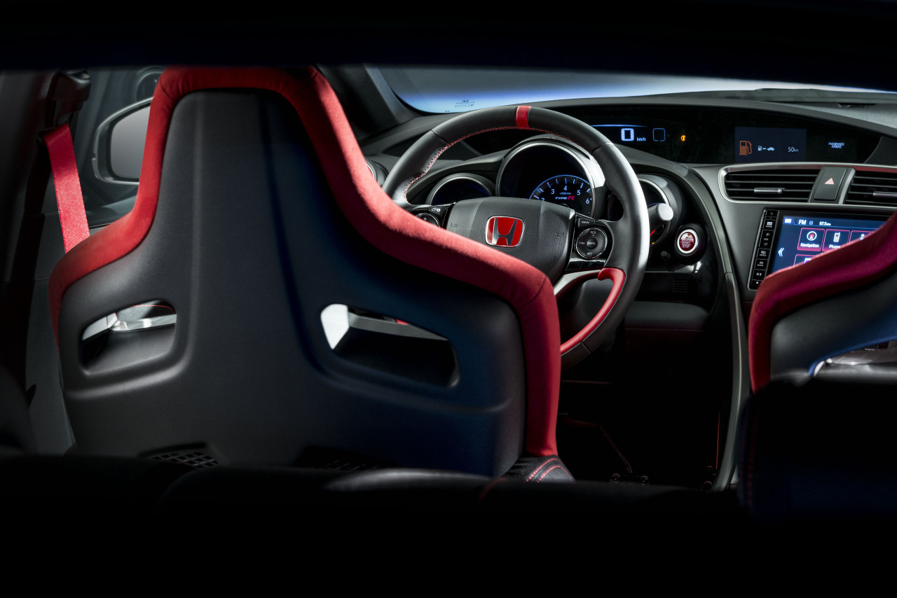 honda civic type r 2015 prix et puissance photo 15 l 39 argus. Black Bedroom Furniture Sets. Home Design Ideas