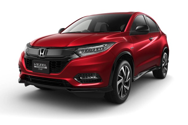 honda hr v le suv restyl pour 2018 l 39 argus. Black Bedroom Furniture Sets. Home Design Ideas
