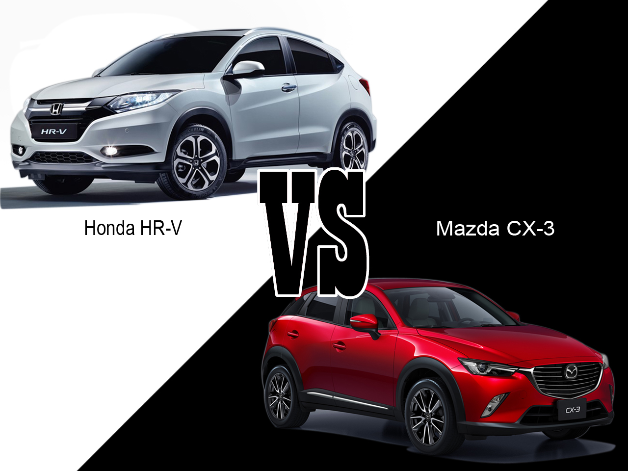 honda hr v vs mazda cx 3 deux nouveaux rivaux pour le. Black Bedroom Furniture Sets. Home Design Ideas