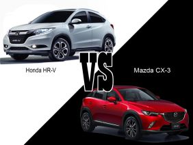 Mazda CX-3 vs Honda HR-V