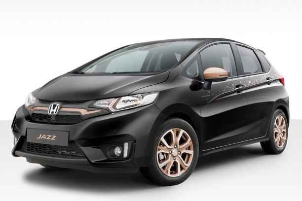 honda jazz spotlight edition une s rie limit e pour le mondial 2016 l 39 argus. Black Bedroom Furniture Sets. Home Design Ideas