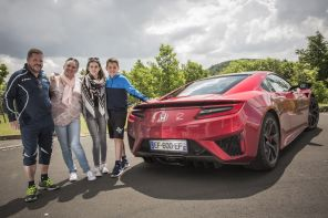 Honda NSX au Nürburgring : le week-end de nos gagnants en images
