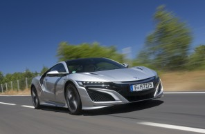 honda nsx photo sur route