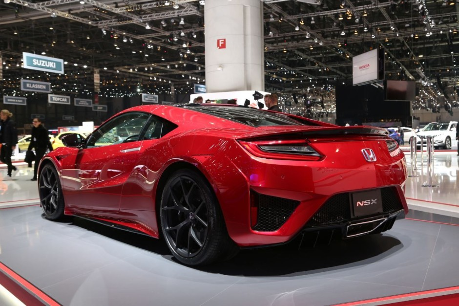 top des meilleures supercars du salon de gen ve 2016 honda nsx l 39 argus. Black Bedroom Furniture Sets. Home Design Ideas