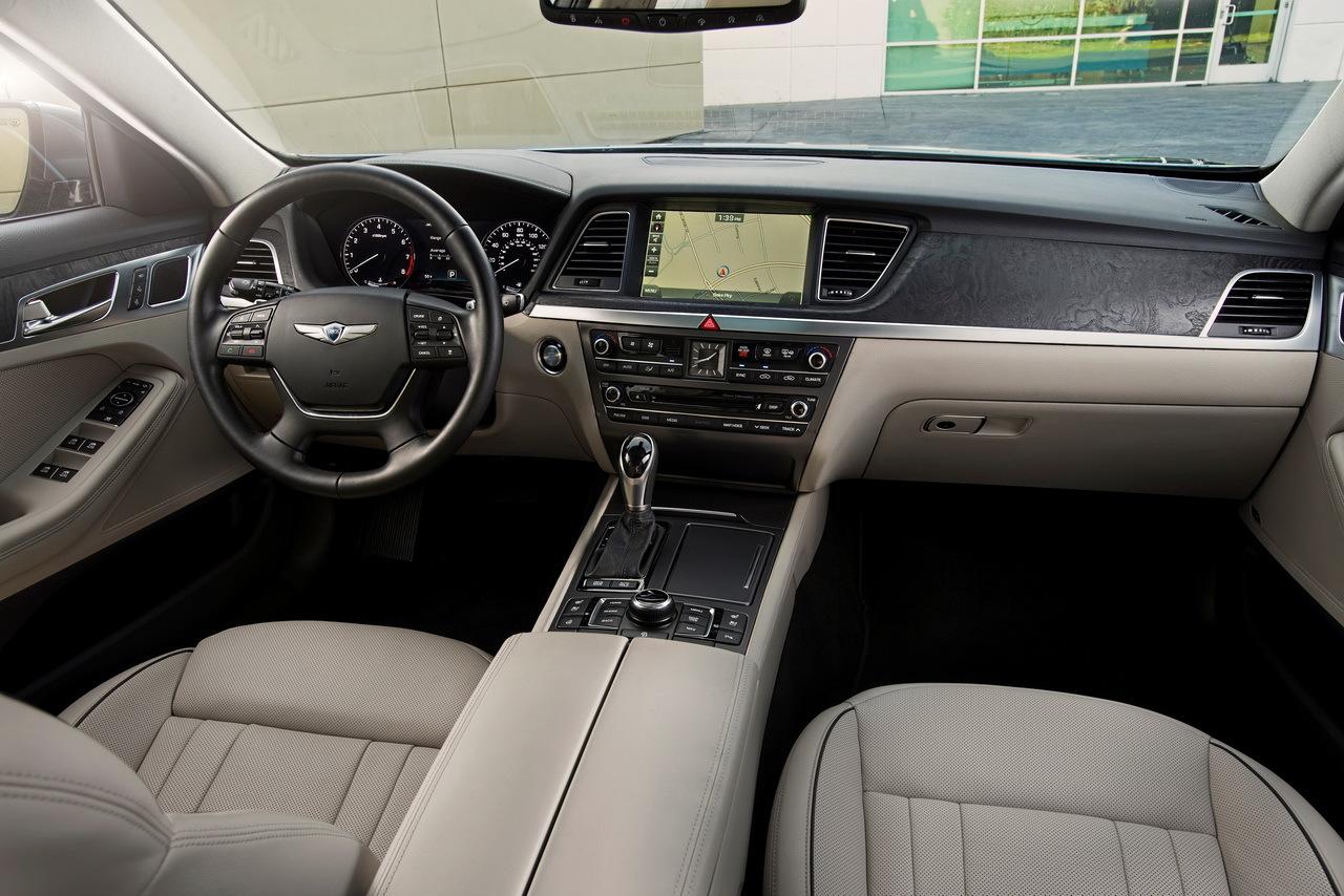 Hyundai genesis berline une premi re en france l 39 argus - 2016 hyundai genesis sedan interior ...