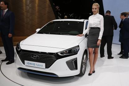 Hyundai Ioniq, une hybride, une hybride rechargeable et une