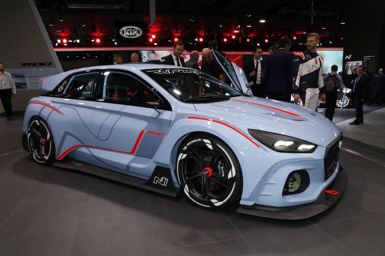 Hyundai rn30 concept une version sportive en approche l 39 argus - Mondial de l auto paris 2017 ...