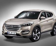 Vue avant Hyundai Tucson 2015