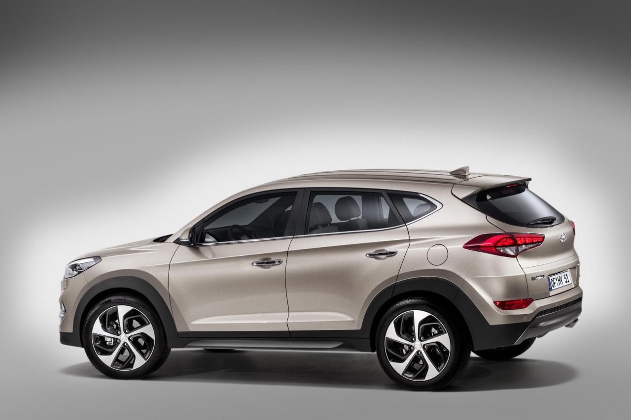 Hyundai Tucson (2015) : les premières photos avant le ...
