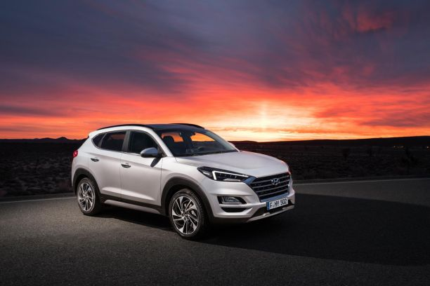hyundai tucson 2018 infos et photos du tucson restyl l 39 argus. Black Bedroom Furniture Sets. Home Design Ideas