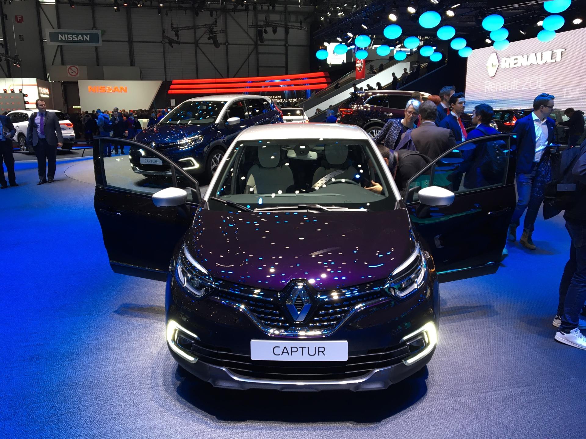 Renault Captur Initiale Paris Le Captur Restyl 233 Haut De