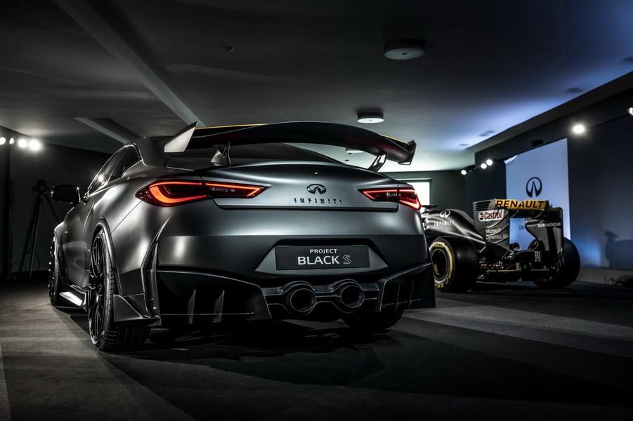 Q50 クーペ >> Les meilleurs concept-cars du salon de Genève 2017 - Infiniti Q60 Project Black S - L ...