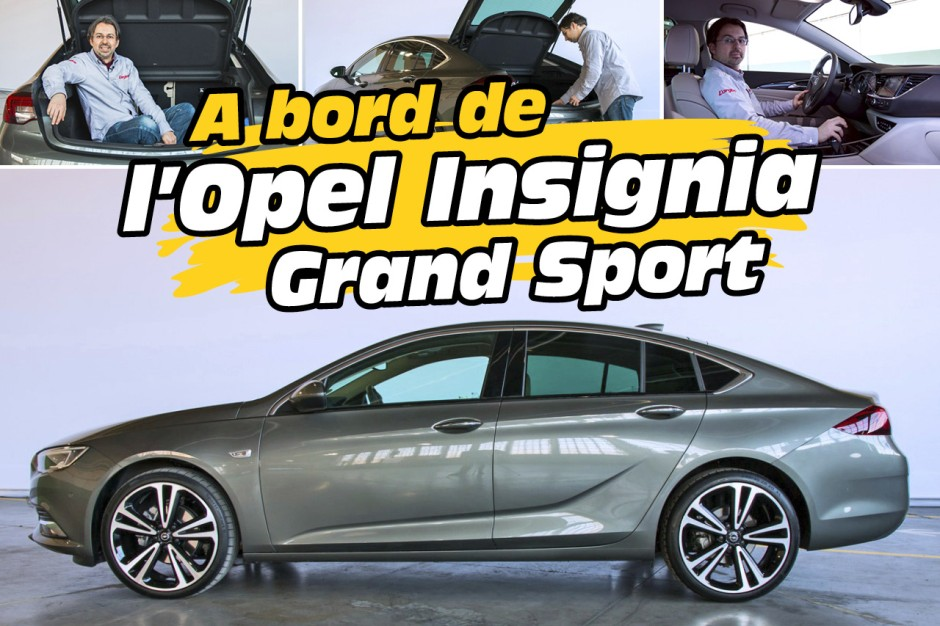 opel insignia grand sport 2017 l 39 d j bord en vid o photo 1 l 39 argus. Black Bedroom Furniture Sets. Home Design Ideas