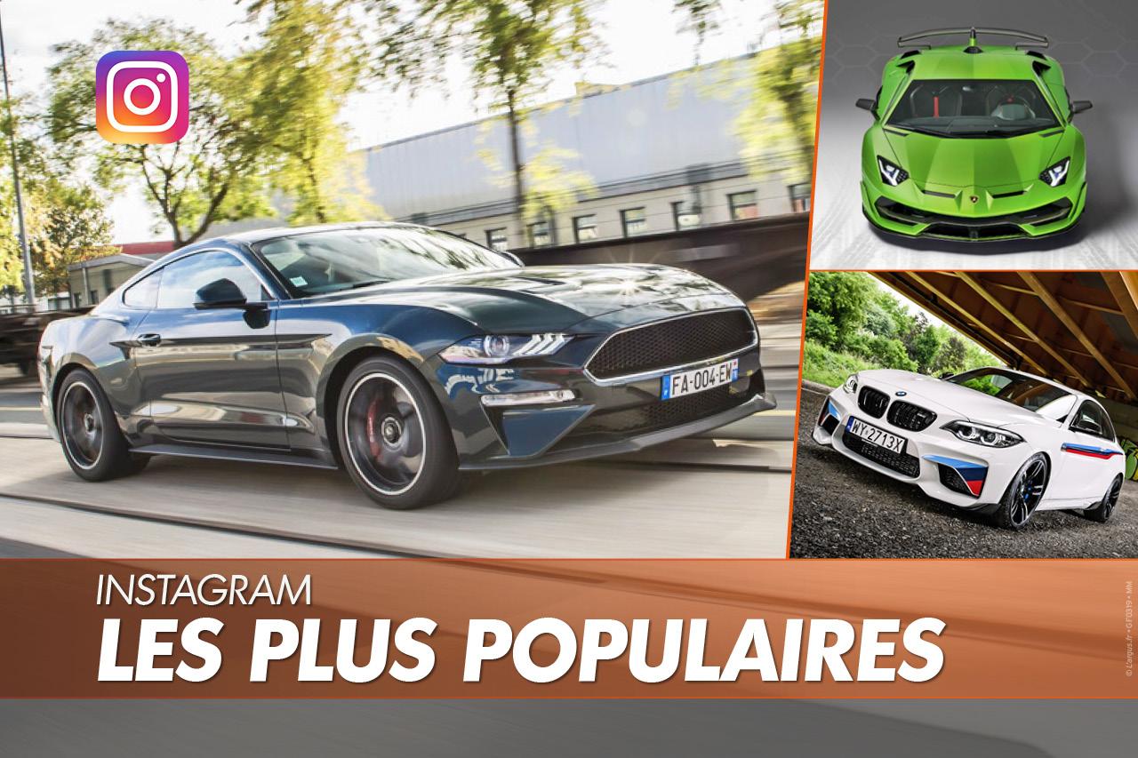 Les voitures les plus populaires sur Instagram