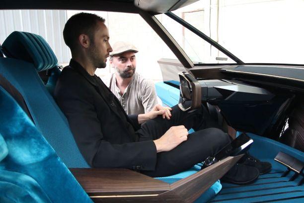 Peugeot e-Legend Concept : interview du responsable des concept-cars