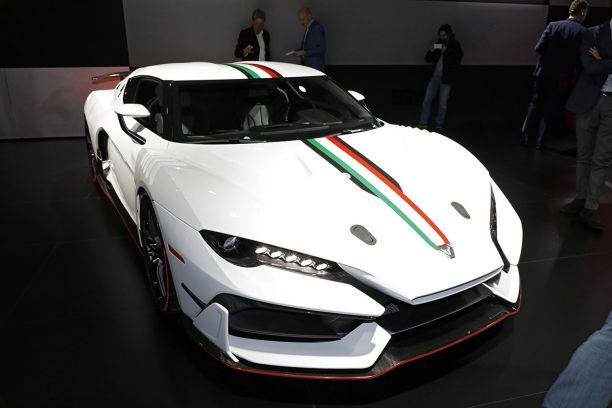 84df4420254c1 Genève accueille une nouvelle concurrente aux Ferrari 488 GTB et autres  Lamborghini Huracan. La nouvelle marque Italdesign Automobili Speciali y  lance son ...