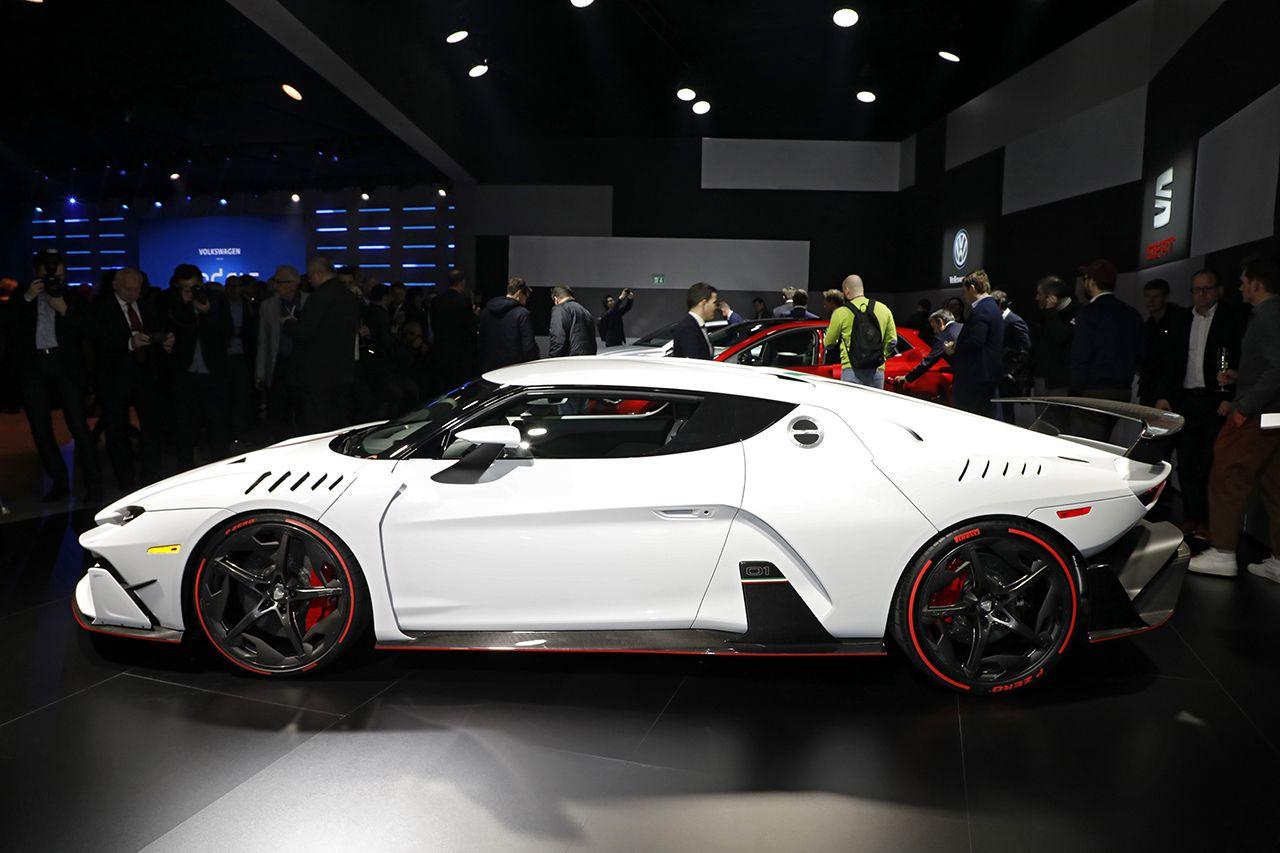 Top 20 des voitures les plus puissantes du salon de gen ve 2017 17 italdesign zerouno l 39 argus - Salon voiture occasion geneve ...
