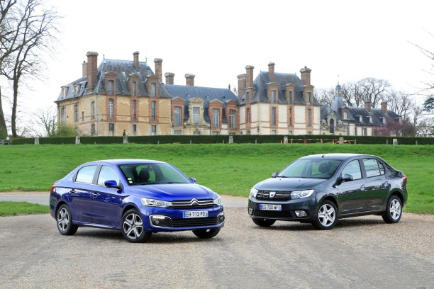 essai comparatif la citro n c elys e d fie la dacia logan l 39 argus. Black Bedroom Furniture Sets. Home Design Ideas