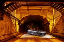 Jaguar F-Type SVR tunnel Park Avenue New York