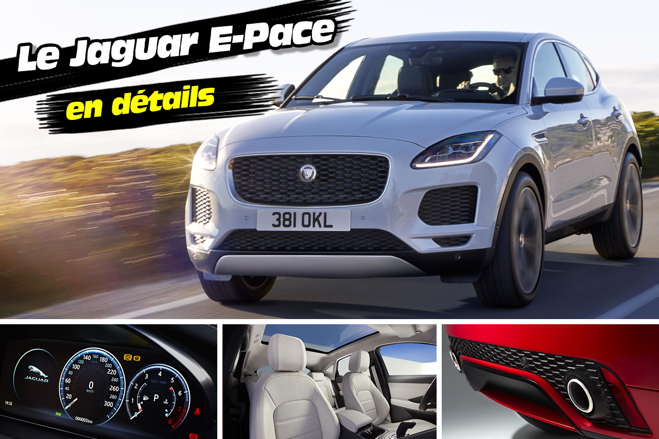 jaguar e pace le nouveau suv jaguar en 26 images photo 1 l 39 argus. Black Bedroom Furniture Sets. Home Design Ideas