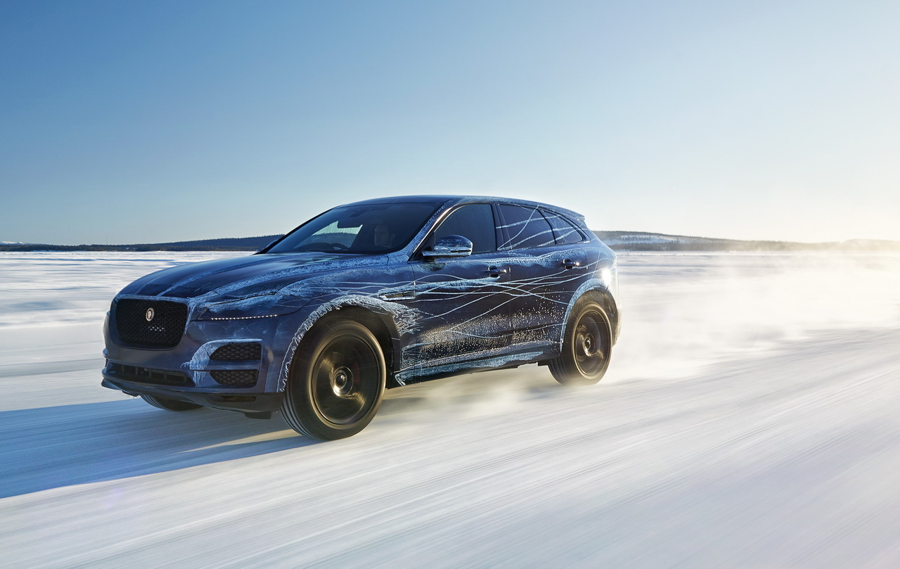 jaguar f pace le suv jaguar a t test dans des conditions extr mes photo 1 l 39 argus. Black Bedroom Furniture Sets. Home Design Ideas