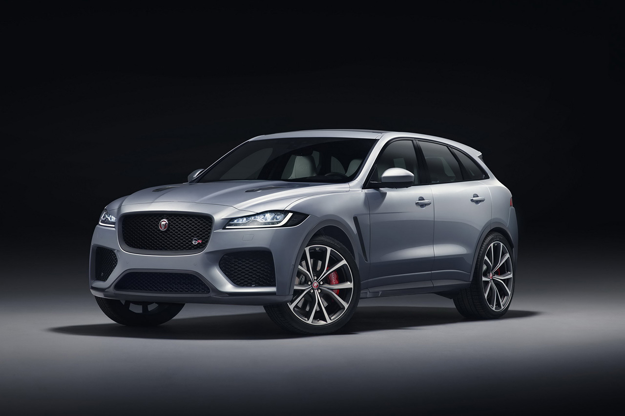 jaguar f pace svr 550 ch pour le suv anglais photo 3 l 39 argus. Black Bedroom Furniture Sets. Home Design Ideas