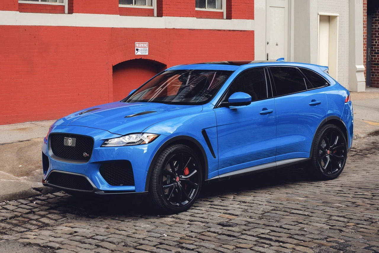 jaguar f pace svr 550 ch pour le suv anglais photo 1 l 39 argus. Black Bedroom Furniture Sets. Home Design Ideas