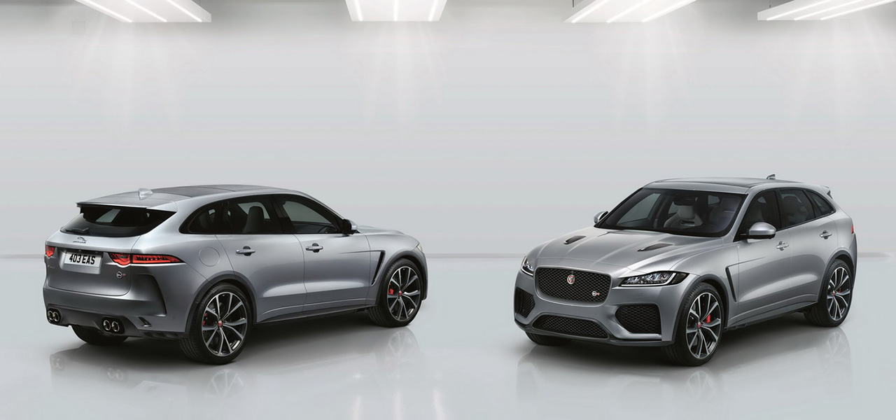 jaguar f pace svr 550 ch pour le suv anglais photo 4 l 39 argus. Black Bedroom Furniture Sets. Home Design Ideas