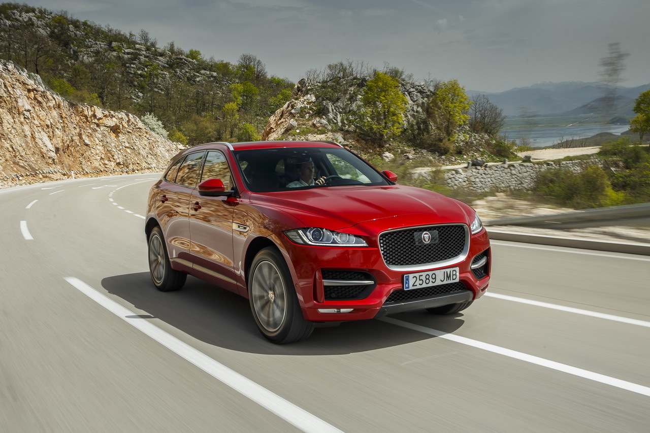 Essai jaguar f pace le nouveau conqu rant photo 3 l for Interieur jaguar f pace