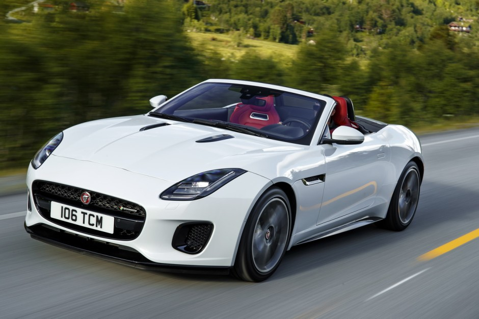 jaguar F-Type 2.0 quatre cylindres 2017