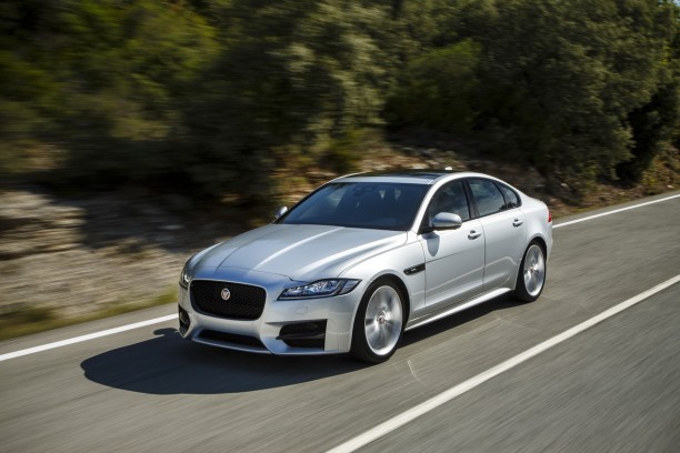 essai jaguar xf 2015 le test de la version diesel de 180 ch l 39 argus. Black Bedroom Furniture Sets. Home Design Ideas