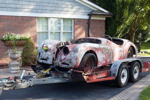 une jaguar xk120 sortie de grange apr s 48 ans d 39 immobilisation l 39 argus. Black Bedroom Furniture Sets. Home Design Ideas