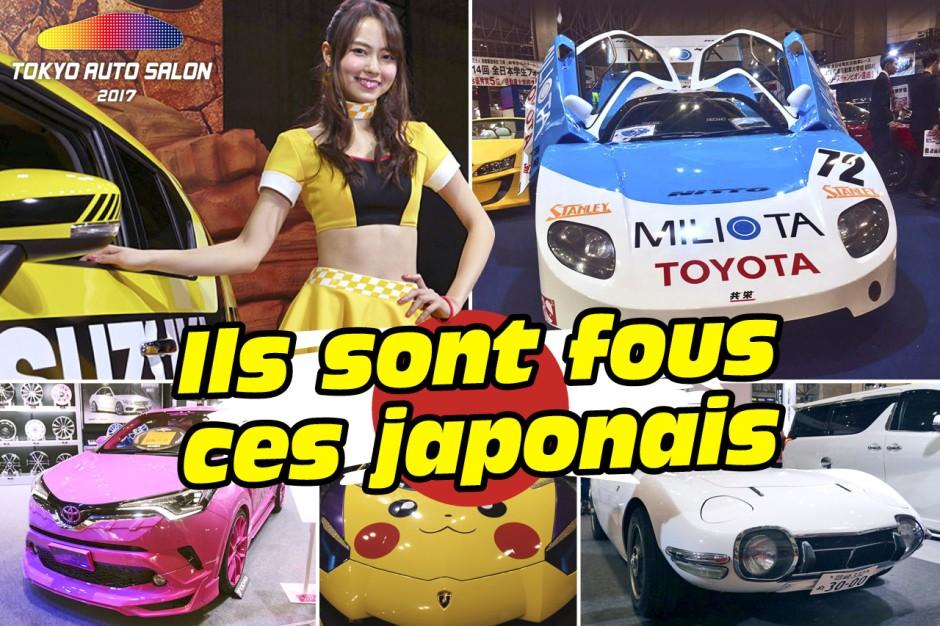 Les d lires du tokyo auto salon 2017 tokyo auto salon for Auto journal salon 2017
