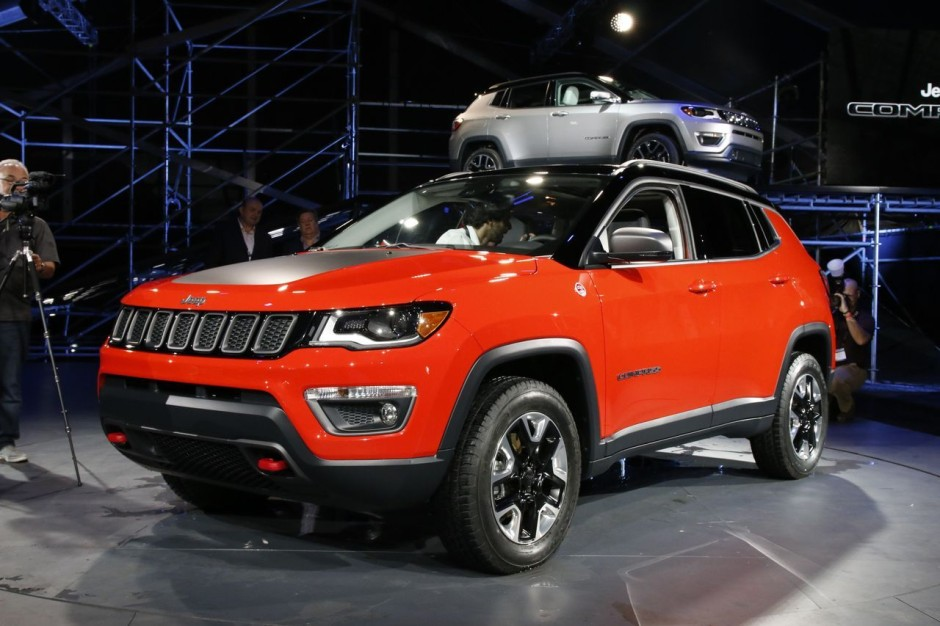 nouveau jeep compass 2017 en vedette au salon de los angeles photo 18 l 39 argus. Black Bedroom Furniture Sets. Home Design Ideas