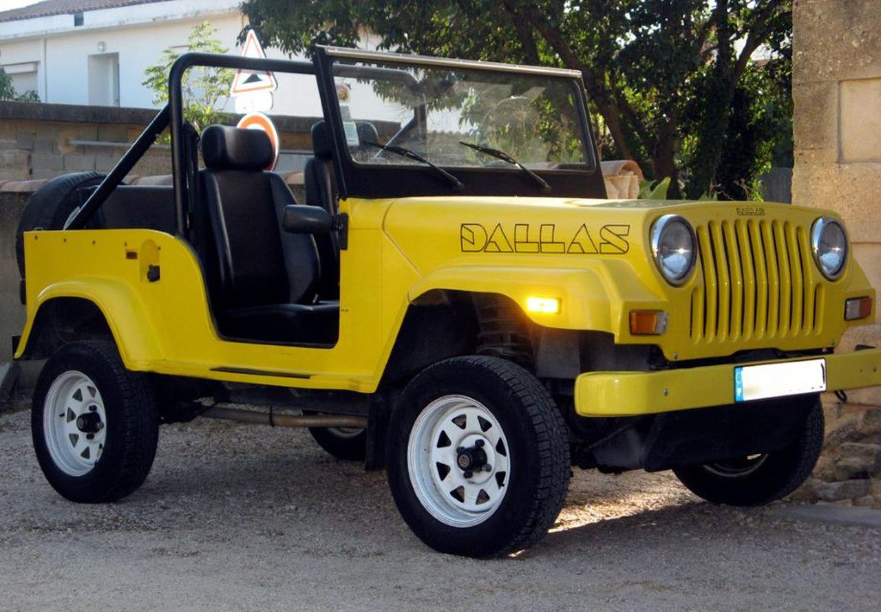 sp cial t le top 50 des voitures de plage jeep dallas l 39 argus. Black Bedroom Furniture Sets. Home Design Ideas