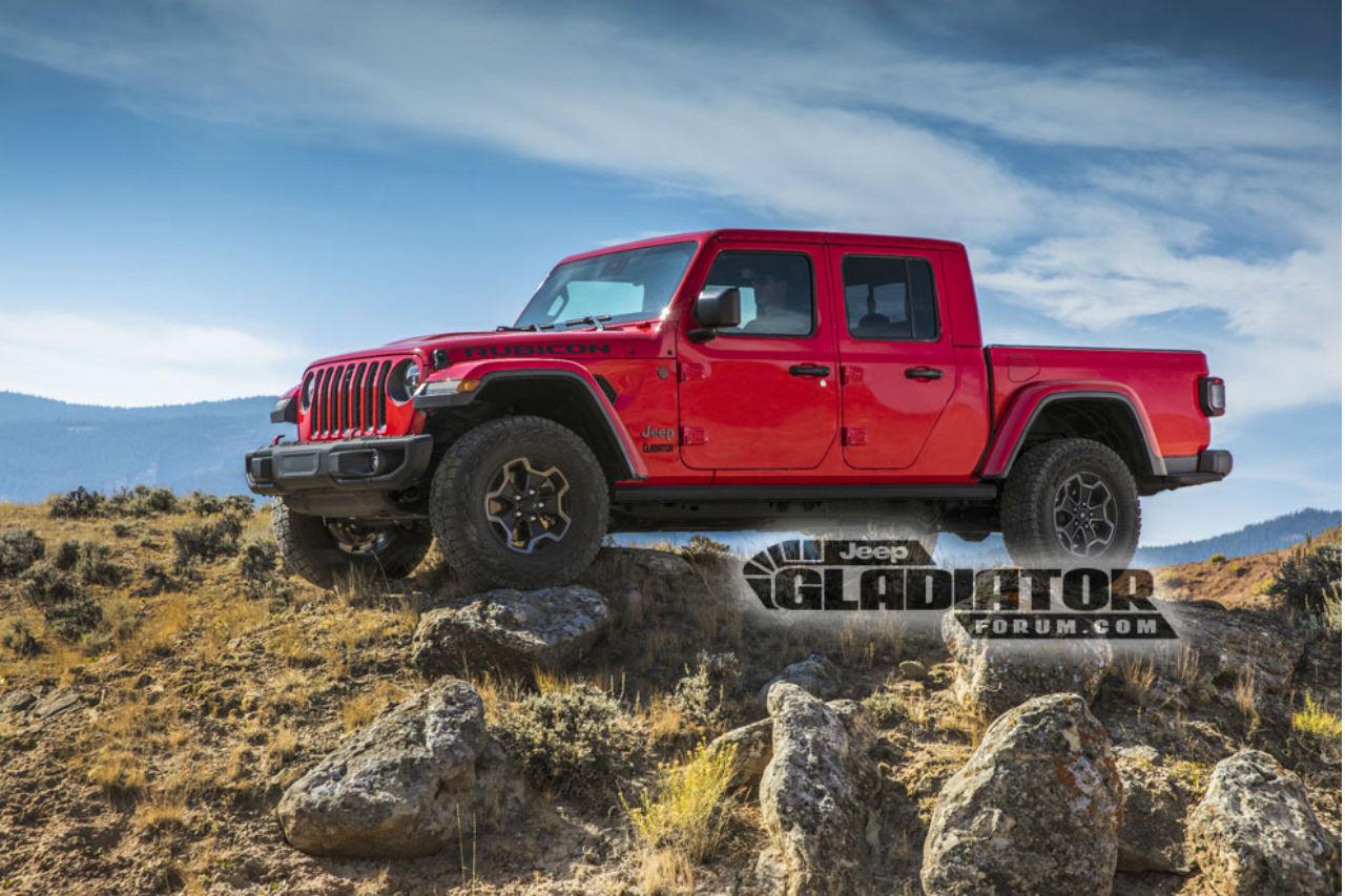 Jeep Gladiator: le nouveau pick-up en fuite