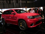 Jeep Grand Cherokee Trackhawk 2018 : le monstre du stand Jeep