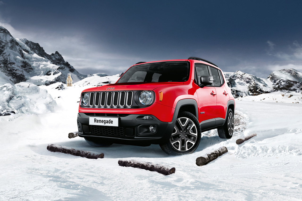 jeep renegade s rie sp ciale aspen et nouvelle gamme. Black Bedroom Furniture Sets. Home Design Ideas