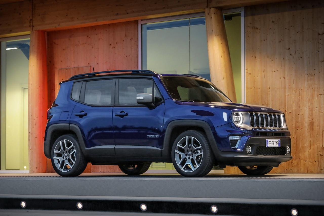 Le Jeep Renegade Hybride Rechargeable Bientot Produit
