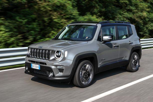 Jeep Renegade 4xe Au Volant De La Jeep Hybride Rechargeable