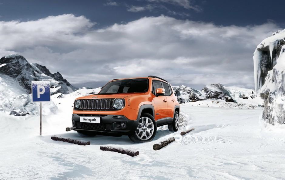 jeep renegade winter edition une s rie limit e 200 exemplaires photo 1 l 39 argus. Black Bedroom Furniture Sets. Home Design Ideas