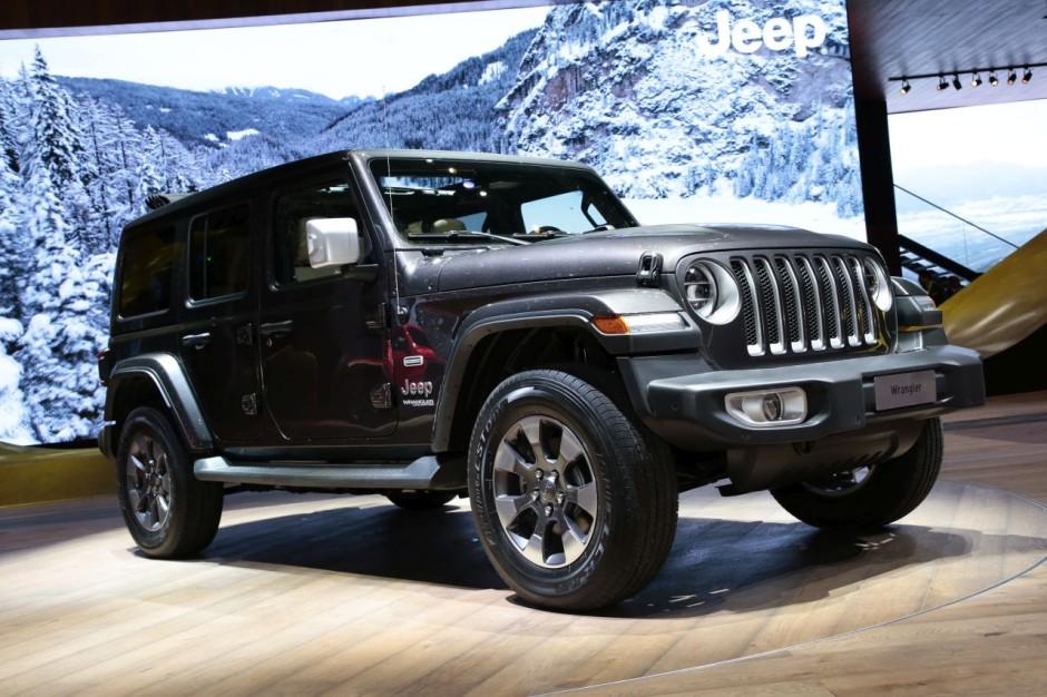les nouveaux suv du salon de gen ve 2018 jeep wrangler l 39 argus. Black Bedroom Furniture Sets. Home Design Ideas
